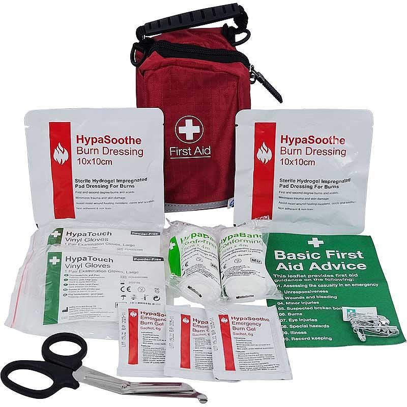 First Aid Kits Burn Stop Burn Kits in Nylon Bags