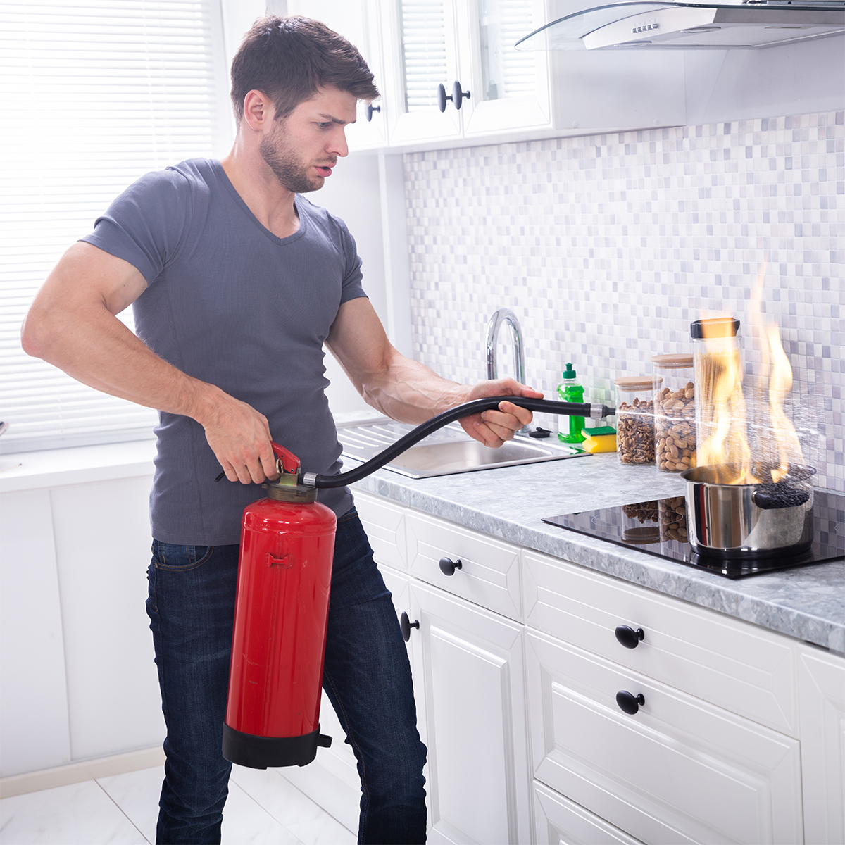 OUCH! in the Kitchen - Safety when Cooking with Fire