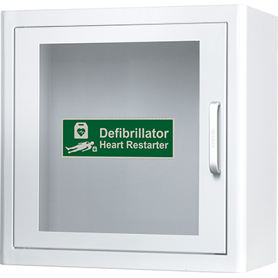 AED storage and Information