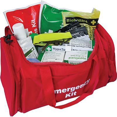 Critical Injury First Aid Kits