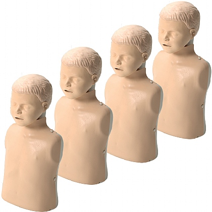 Laerdal Little Junior with Softpack Light Skin Multipack