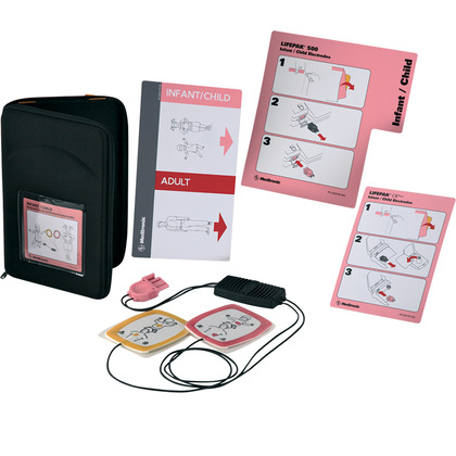 LIFEPAK CR Plus AED Infant/Child Reduced Energy Defib Electrode Starter Kit