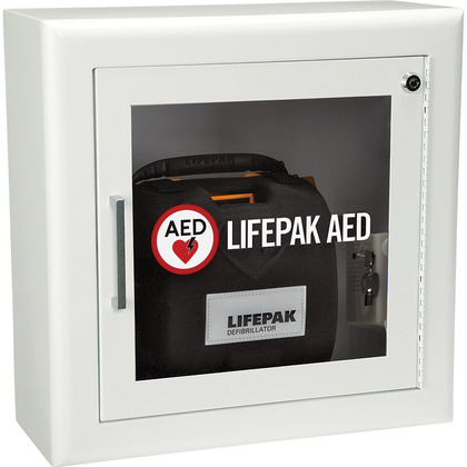 LIFEPAK AED Wall Cabinet, Alarmed