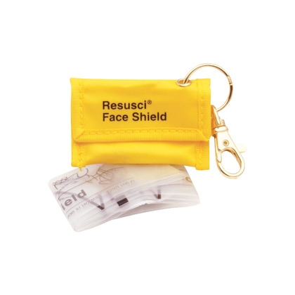 Laerdal Resusci Face Shield in Key Fob