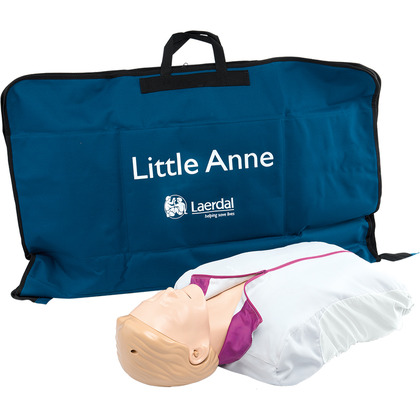 Laerdal Little Anne with Soft Pack Light Skin