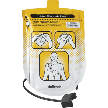 Defibtech Lifeline AED Adult Pads (1 pair)