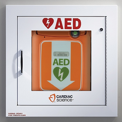 Powerheart G5 AED Cabinet with Alarm
