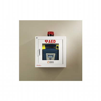 Powerheart G5 AED Cabinet with Alarm and Strobe