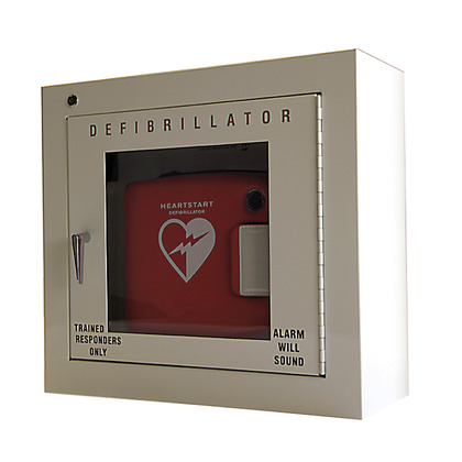 Philips HeartStart AED Cabinet with Alarm