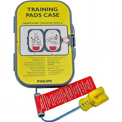 Philips HeartStart FRx AED Training Pads II in case