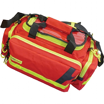 Emergency Bag, Medium, Polyester, Red
