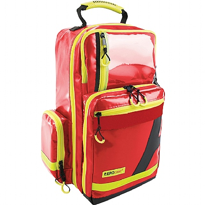 Emergency Backpack, Large, PVC, Red