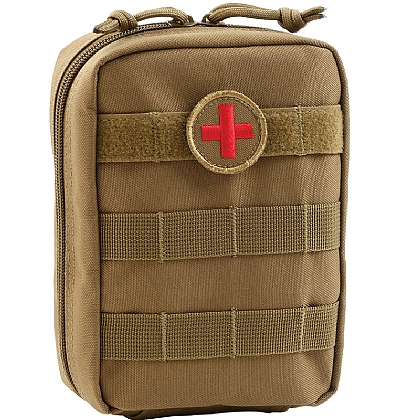 Tan MOLLE Pouch