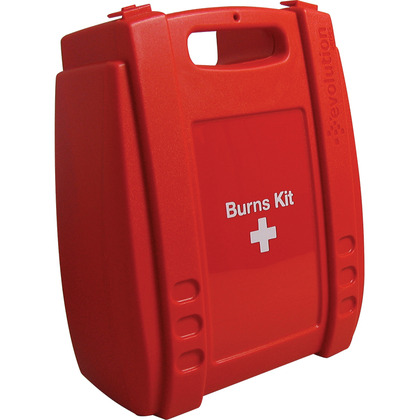 Empty Red Evolution Burns Kit Case, Medium