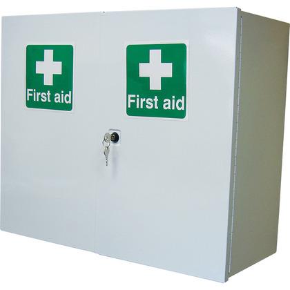Double Door, Full Depth First Aid Cabinet