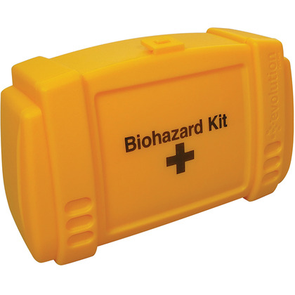 Empty Yellow Evolution Biohazard Case, Small
