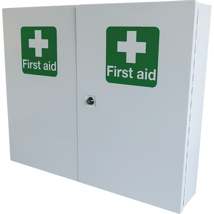 Double Door, Single Depth First Aid Cabinet