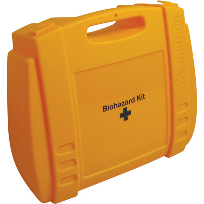 Empty Yellow Evolution Biohazard Case, Large