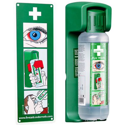 Cederroth Bracket with 500ml Bottle of Eyewash