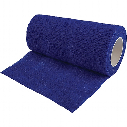 Non Woven Cohesive Bandage Blue 10cm x 4.5m (Medium Support)