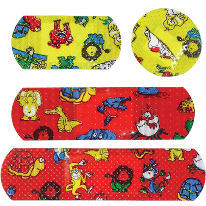 Childrens Washproof Assorted Plasters (20)