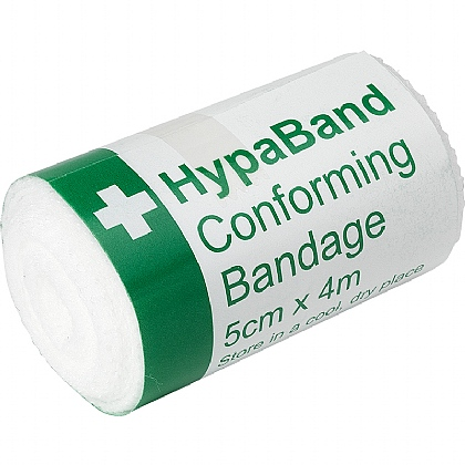 HypaBand Conforming Bandages, 5cm x 4m