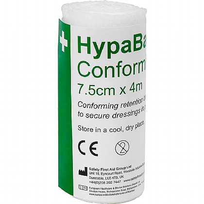 HypaBand Conforming Bandages, 7.5cm x 4m