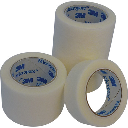 Micropore 3M Paper Tape, Medium, 2.5cm x 5m