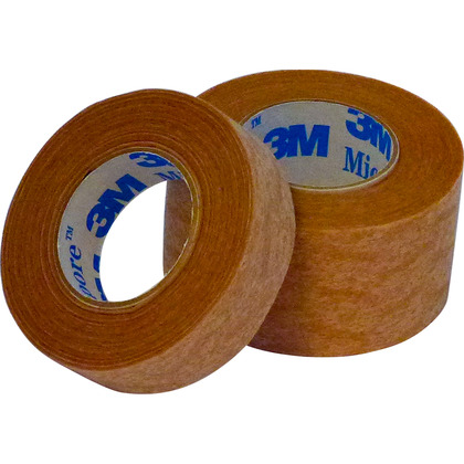 Micropore Tapes (Pk of 12) - 2.5cm x 9.1m
