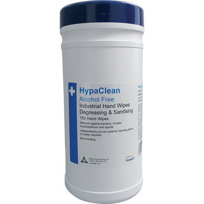 HypaClean Industrial Degreasing & Sanitising Hand Wipes