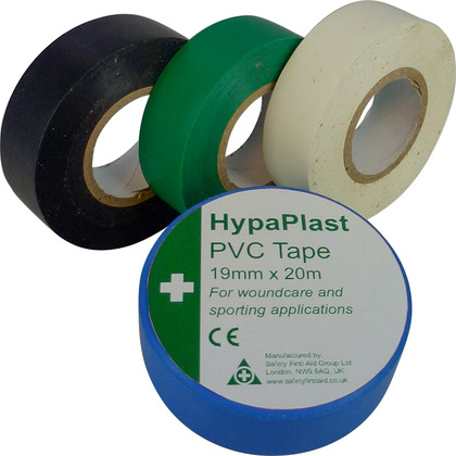 HypaPlast PVC Sports Tape, White
