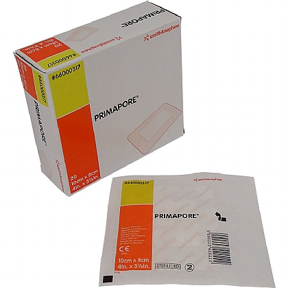 Primapore, Medium 10cm x 8cm- Pack of 20