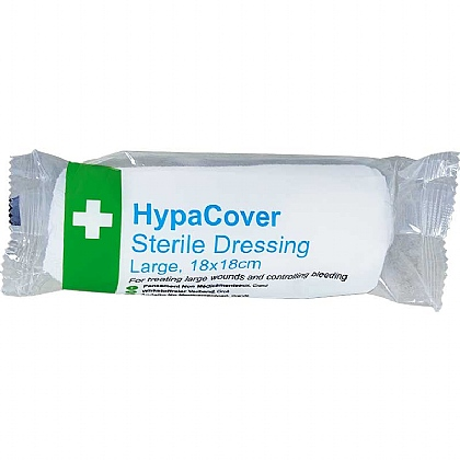 Sterile Dressing, Large - 18cm x 18cm (HypaCover)