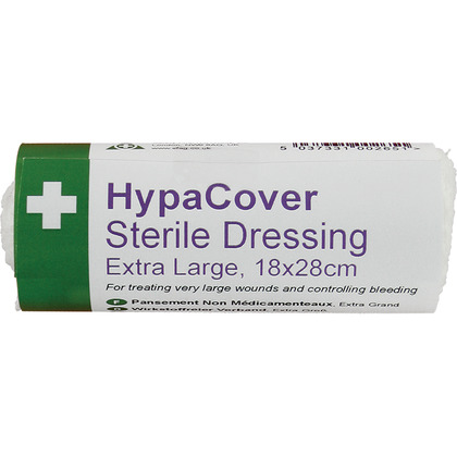 HypaCover Sterile Dressing, Extra Large - 28cm x 18cm