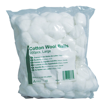 Cotton Wool Balls Large (200)