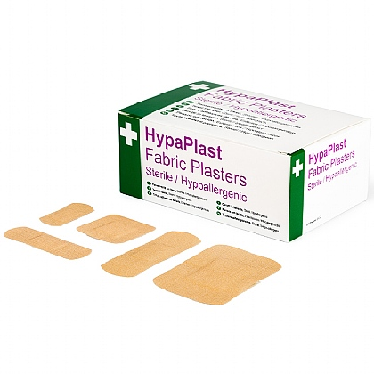HypaPlast Fabric Plasters, Assorted (100)