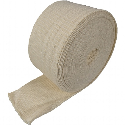 Elasticated Tubular Bandage White Size D 10m