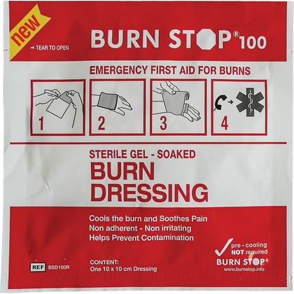 Burn Stop Burns Dressing - 10x10cm