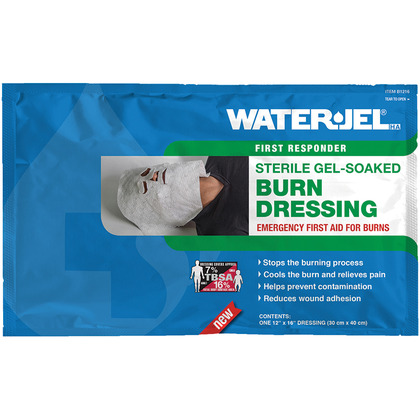 Water-Jel Face Mask Burn Dressing