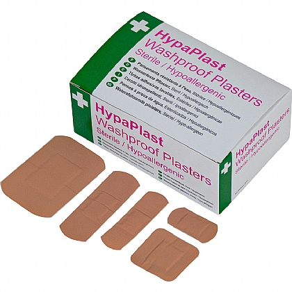 HypaPlast Washproof Plasters Assortment (100)