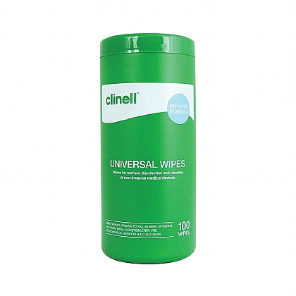 Clinell Universal Wipes - Tub of 100