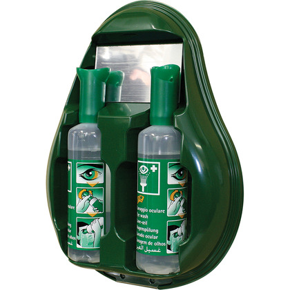Drop Eye Wash Station with 2 x free 500ml eye wash bottles