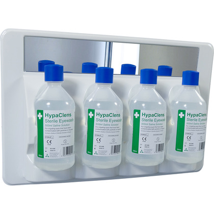 HypaClens 4 x 500ml Eyewash Station