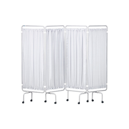 Medical Screen & Curtains White Epoxy Frame