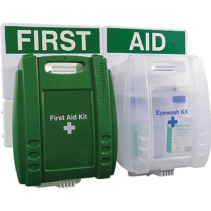 1-10 Persons Eyewash & First Aid Point