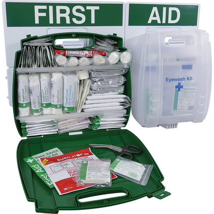 Workplace First Aid & Eyewash Point BS8599 Large