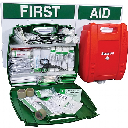 Evolution BS 8599 Compliant Catering First Aid Point, Large