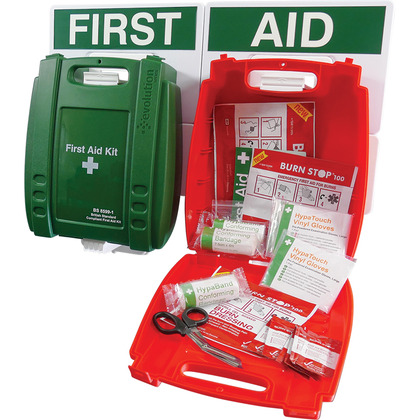 Evolution BS 8599 Compliant Catering First Aid Point, Medium