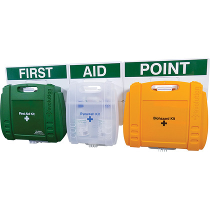 Evolution Comprehensive First Aid Point BS 8599 Compliant, Large