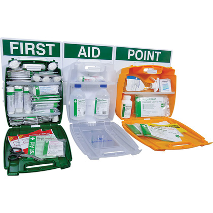 Evolution Comprehensive First Aid Point BS 8599 Compliant, Medium